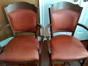 70's Arm chairs