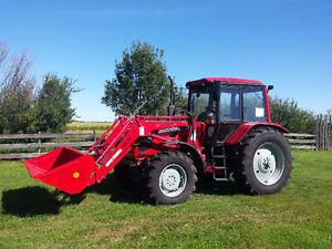 New MTZ 1220  122 HP  Tractor  W/ Loader , All Trades Welcome!