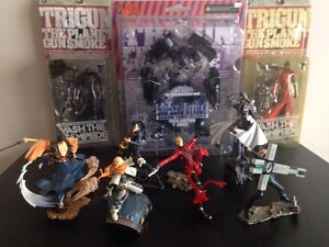 Trigun Set action figures from kaido