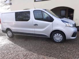 Renault trafic crew cab for sale No vat