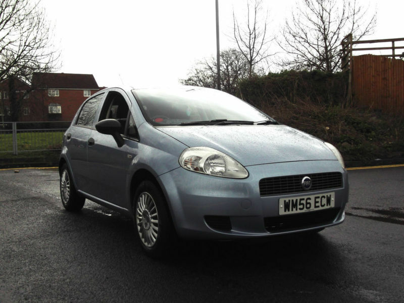 2007 fiat grande punto 1 2 active 5 door 5 speed manual blue px swap swop in hillingdon. Black Bedroom Furniture Sets. Home Design Ideas