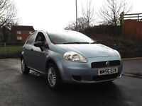 2007 FIAT GRANDE PUNTO 1.2 ACTIVE 5 DOOR 5 SPEED MANUAL BLUE PX SWAP SWOP