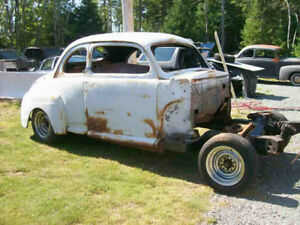 A 1947 Ford Coupe