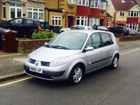 Renault Scenic 1.6 Automatic With MOT &Full Service History,Super Low Miles,Cheap 4 Insurance