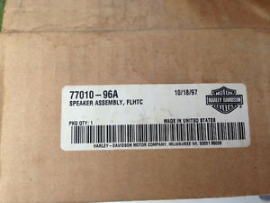 NEW Harley speaker assembly FLHTC 77010-96A
