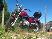 Zengshon 125cc motorcycle 2008