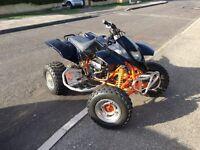 Road legal quadzilla 300 quad bike ATV