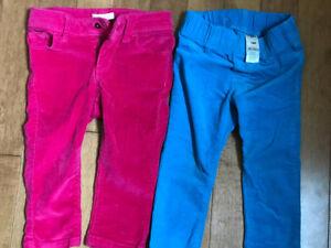 Girls 12-18 months pants