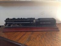 Boxed unused Franklin Mint HO New York Central 5405 Loco & tender