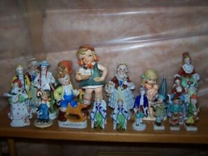 18 JAPAN ORNAMENTS / FIGURINES - LOT PRICE $25 GREAT FOR SELLERS