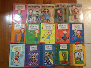Lot of 15 - Amazing Days of Abby Hayes Books