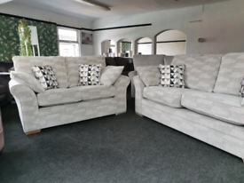 NEW Chia Patchwork 3 + 2 Seater Sofa Suite DELIVERY AVAILABLE