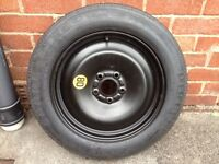 Space saver wheel & tyre new