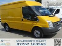 2011 11 FORD TRANSIT T330 MWB MED ROOF 115PS PANEL VAN EX COUNCIL ONLY 47K