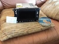 Vw golf mk5 gti sat nav head unit will fit most vw