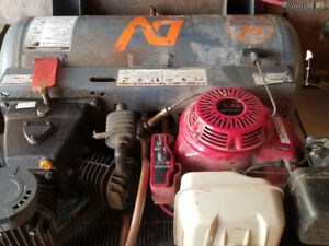DV air gas air compressor