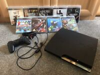 PlayStation 3 320GB inc 9 games