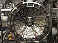 "15"" Stuttgart alloy wheels Alloys Rims tyre tyres 4x100 BMW e30 Vw Volkswagen Seat skoda vauxhall"