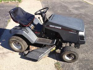 """Craftsman 12.5 hp 42"""" 6 speed riding mower"""