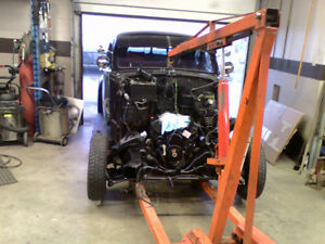 Heated Space to WORK on your Muscle car or Hot Rod – Est. 1960
