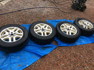 Good used 225/60/16 tires on Subaru Rims