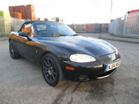2004 54 MAZDA MX-5 1.8L CONVERTIBLE STUNNING CD PLAYER 2KEYS SERVICE HISTORY BARGAIN WOW PX SWAPS