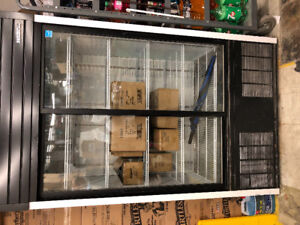 Habco  48 inch  with sliding glass door  Beverage Cooler