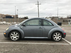 2003 Volkswagen New Beetle, As Is
