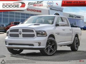 2017 Ram 1500 Sport  EXTENDED WARRANTY | HEATED SEATS | SUNROOF
