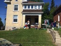 YARD SALE TODAY (Sunday, May 24th)!! 112 ELGIN ST. SOUTH, DURHAM