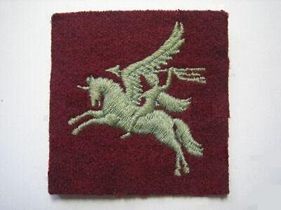 British Special Operator Patch  Bellerophon On Pegasus British Airborne Insignia