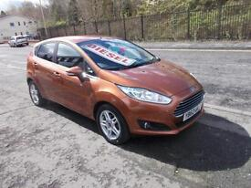 FORD FIESTA DIESEL MANUAL 1.5TDCi ( 75 BHP ) ZETEC FIVE DOOR 62 REG 1 OWNER