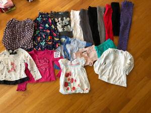 Lot 12 - vêtements fille 5 ans