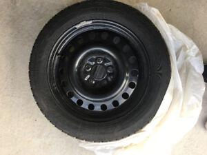 Good Year Tires with Rim! Used on Honda Accord