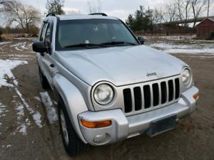 2002 Jeep Liberty 4×4