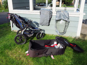 Bob Stroller SunShield, Travel Suitcase, Graco Baby Seat Adapter