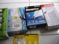 Brand new bulb packs 40W,60W sill in package. Package $3-$4  Eac