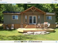Thanksgiving weekend on balsamlake for rent
