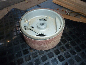 Drum Sander and rolls of emery West Island Greater Montréal image 2