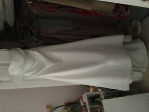 A-line wedding dress, size 4