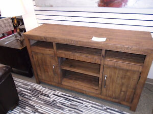 RUSTIC ENTERTAINMENT STAND $69.99/MONTH