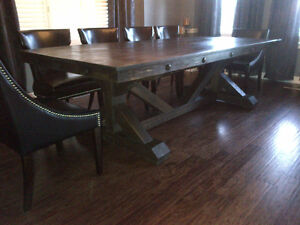 CUSTOM HAND CRAFTED FARMHOUSE HARVEST TABLES Peterborough Peterborough Area image 7