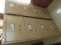 2 Artopex  Filing Steel Cabinets  Made in Canada.