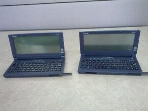 2 Casio Cassiopeias; A-21S & A-22T PDA Handheld Mini PC $150 OBO