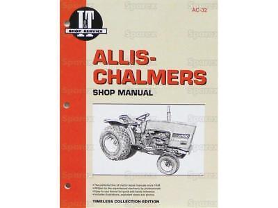 Allis-chalmers 5020 5030 Tractor Shop Service Repair Manual Book It Ac32 New