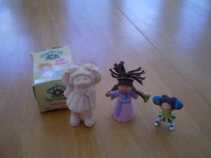 VINTAGE CABBAGE PATCH KIDS SOAP AND FIGURES