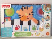 Fisher Price Kick & Play Piano New & Boxed