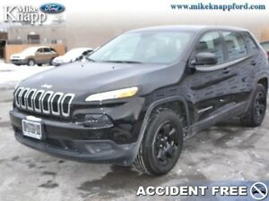 2016 Jeep Cherokee Sport  - Low Mileage