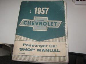 1957 Chevrolet  Manual (Original)