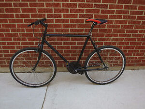 Single Speed Bike $80 firm. Re-Sprayed, new tires and tubes,